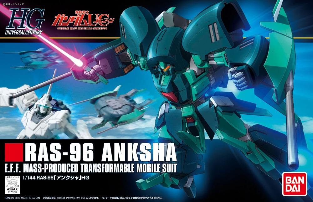 1/144 HGUC RAS-96 Anksha