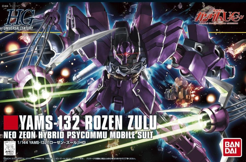 1/144 HGUC YAMS-132 Rozen Zulu