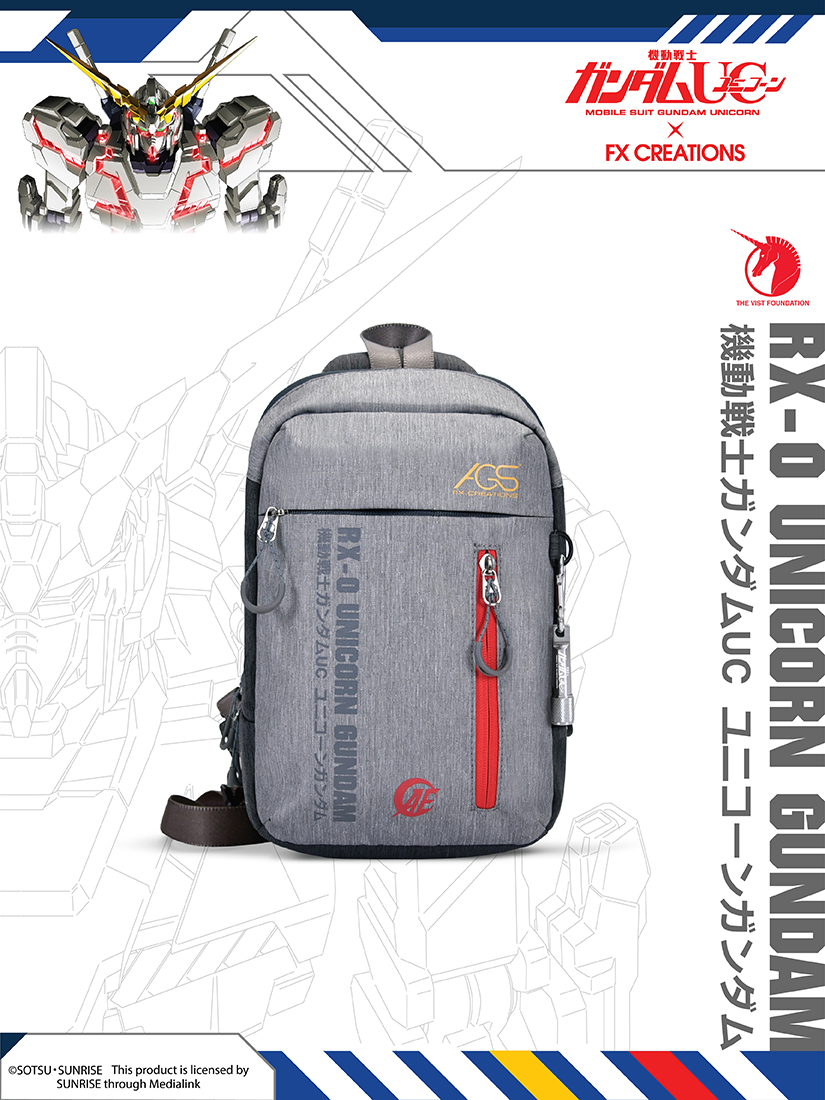 RX-0 Unicorn Gundam Single Strap Backpack