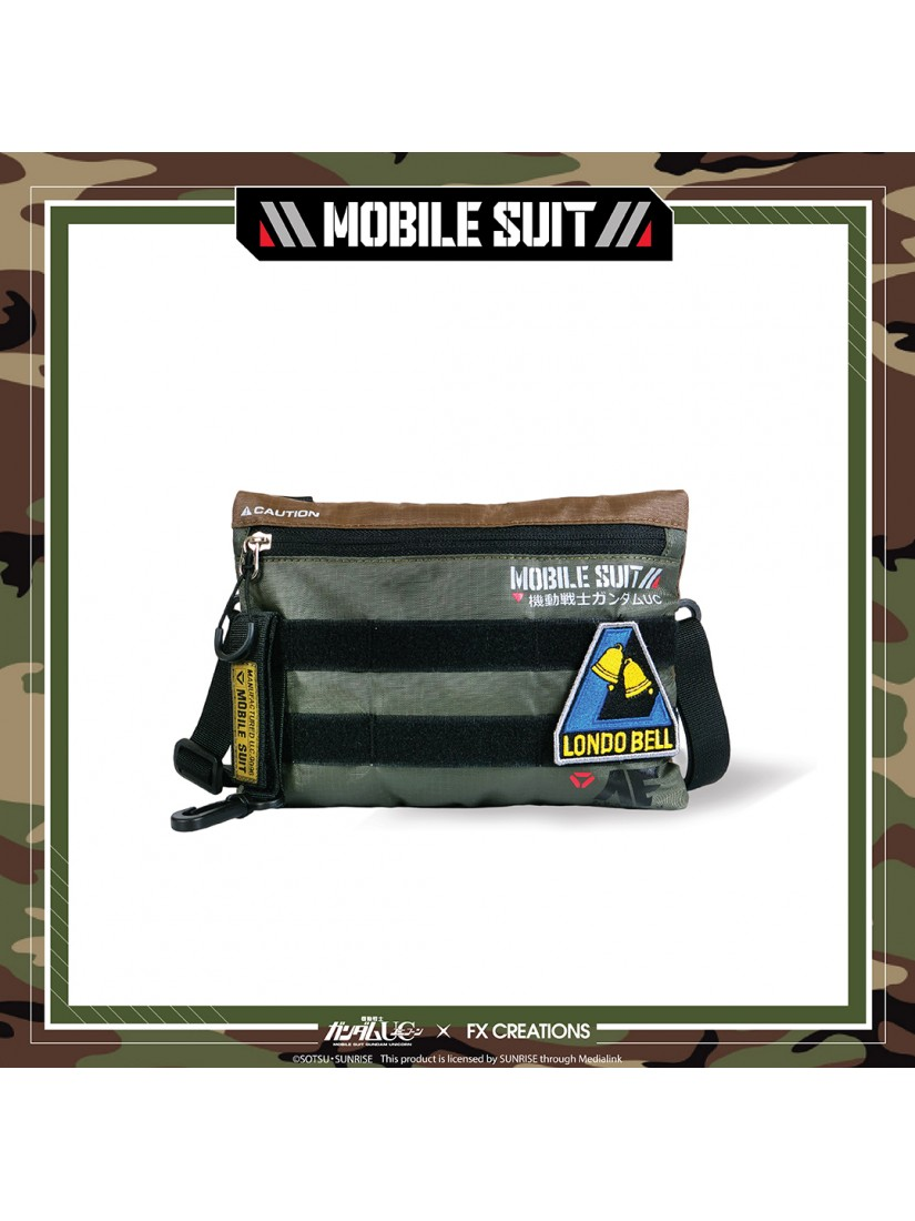 Gundam UC Crossover Series - Gear Up Collection Two Way Crossbody Bag (Landscape)