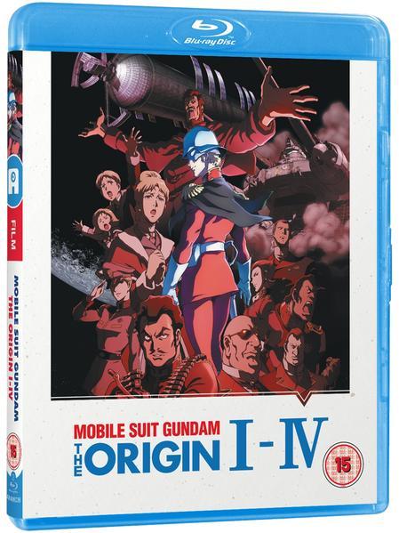 Gundam The Origin I- IV - Blu-ray