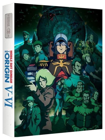 Gundam The Origin V and VI - Blu-ray Ltd Ed