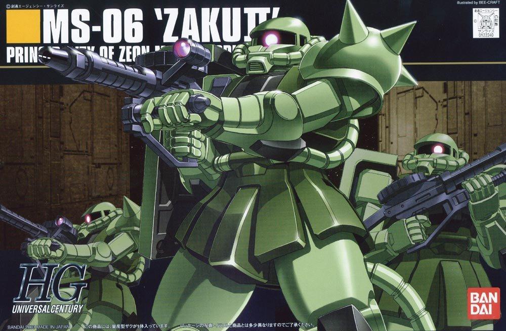 1/144 HGUC MS-06 Zaku II