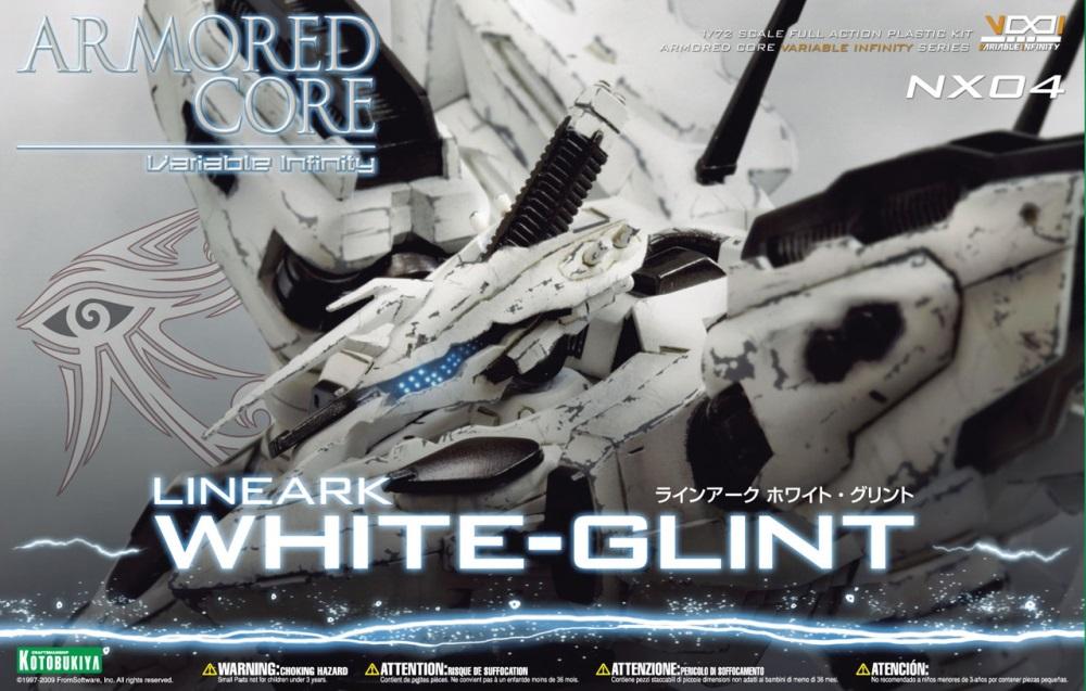 1/72 Aspina White-Glint Armored Core 4 Ver.