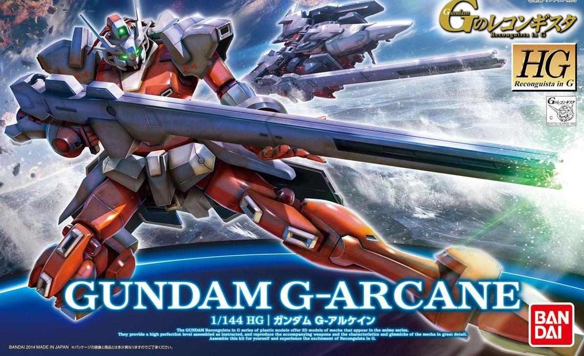 1/144 HG Gundam G-Arcane