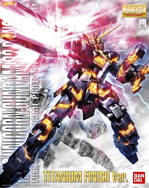 1/100 MG RX-0 Unicorn Gundam 02 Banshee (Titanium Finish)