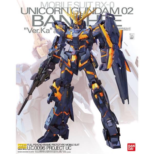 1/100 MG Unicorn Gundam 02 Banshee Ver.Ka