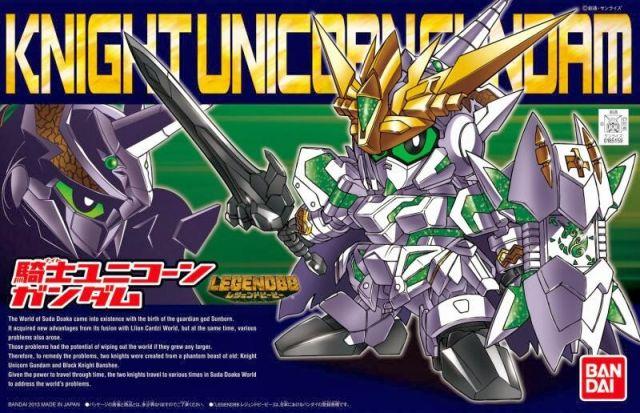 BB Legend Knight Unicorn Gundam
