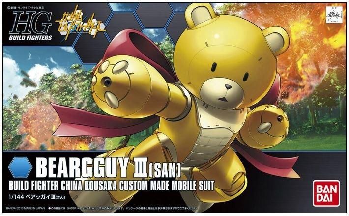1/144 HGBF Beargguy III (San)
