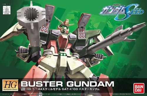 1/144 HG Buster Gundam (remastered)