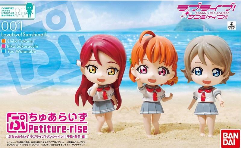 Love Live! Sunshine Petiture-rise Three Pack - Chika / Riko / You