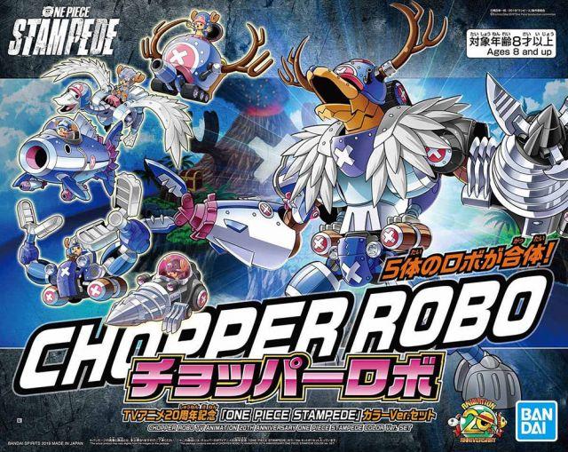 "Chopper Robot 20th Anniversary ""One Piece Stampede"" Colour Set"