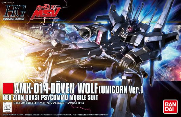 1/144 HGUC Doven Wolf (Unicorn Ver.)