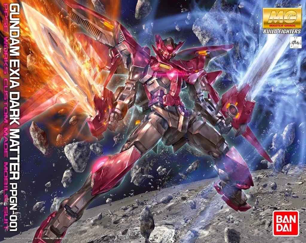 1/100 MG Gundam Exia Dark Matter