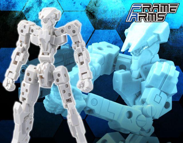 1/100 Frame Arms: Frame Architect Type 001 (Off White)