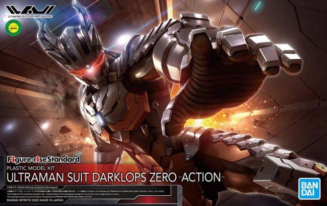 1/12 Figure-Rise Standard Ultraman Suit Darklops Zero Action