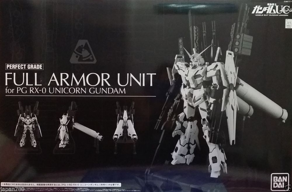 1/60 PG Unicorn Gundam Full Armor Parts Set