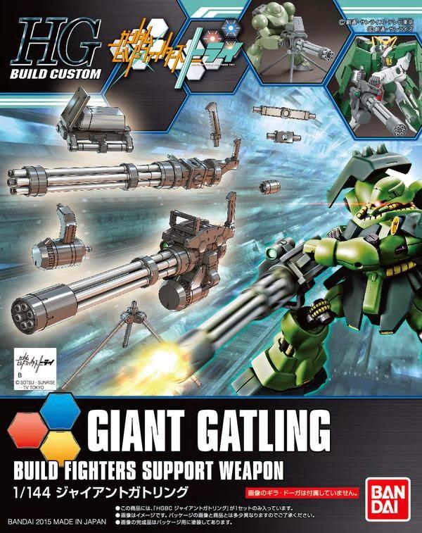 1/144 HGBC Giant Gatling