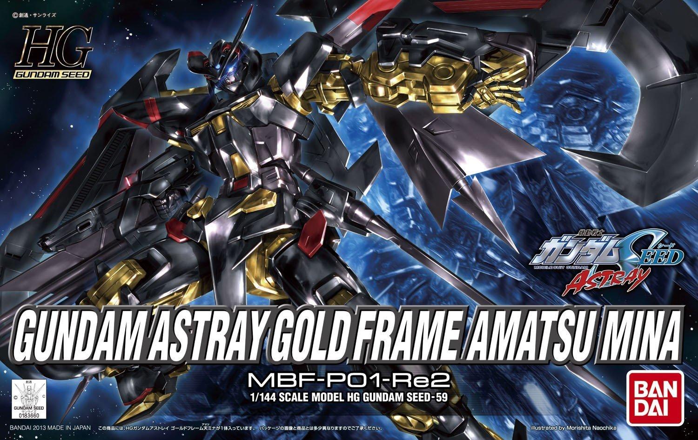 1/144 HG Gundam Astray Gold Frame Amatsu Mina