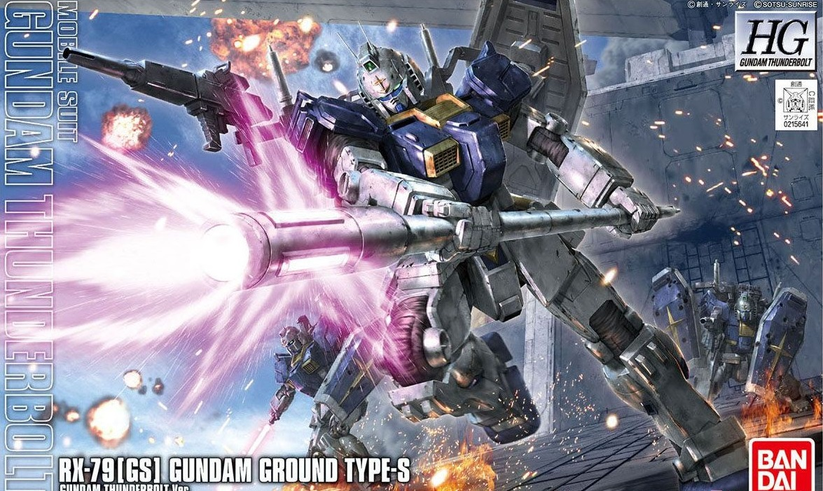 1/144 HG Gundam Ground Type S (Thunderbolt Ver.)