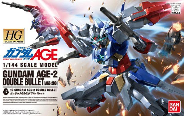 1/144 HG Gundam Age-2 Double Bullet