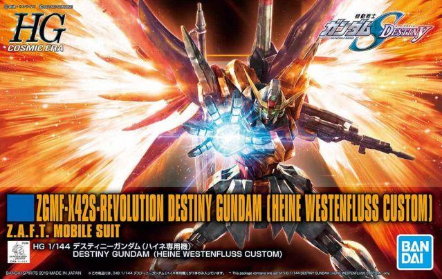 1/144 HGCE Destiny Gundam (Heine Westenfluss Custom)