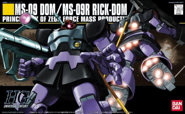 1/144 HGUC Dom/Rick Dom