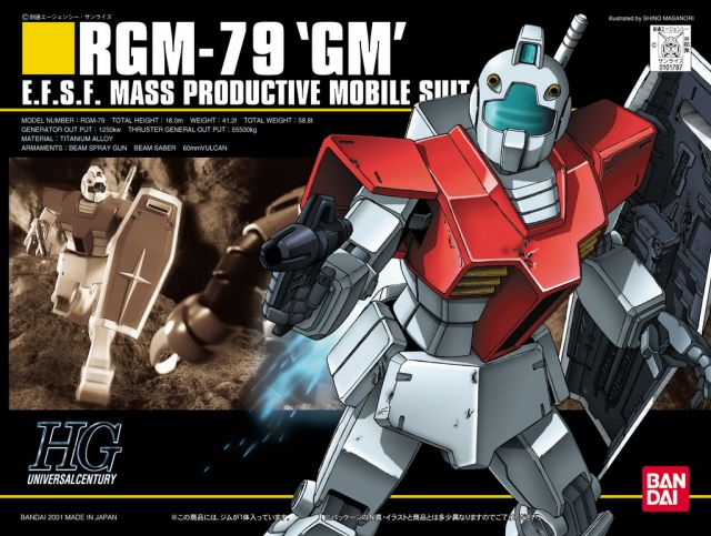 1/144 RGM-79 GM