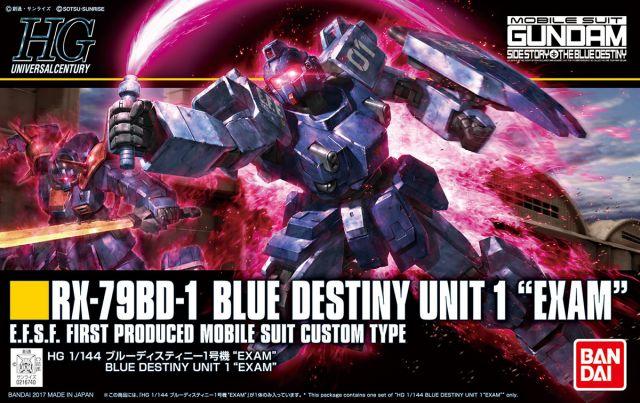 1/144 HG RX-79BD-1 Blue Destiny Unit 1 Exam