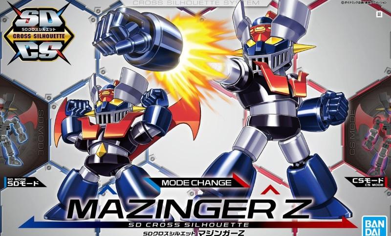 SD Cross Silhouette Mazinger Z