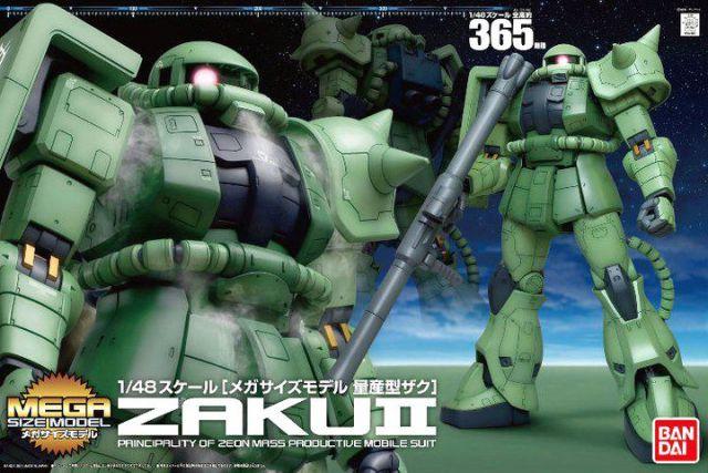 1/48 Mega Size MS-06 Zaku II