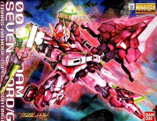 1/100 MG 00 Seven Sword Trans-Am Gloss Injection