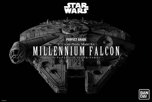 PG 1/72 Star Wars Millenium Falcon (LED Edition)