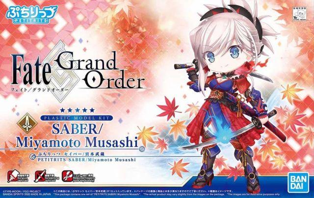 Petitrits Saber Miyamoto Musashi (Fate Grand Order)