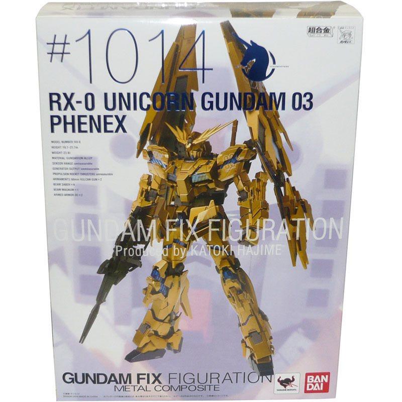 Fixed Figuration Unicorn Gundam 03 Phenex Metal Composite