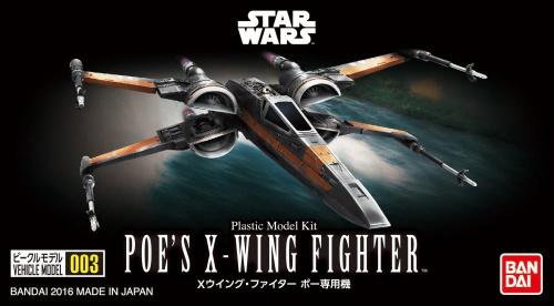 Star Wars Poe's X-Wing Fighter Vehicle Model 003