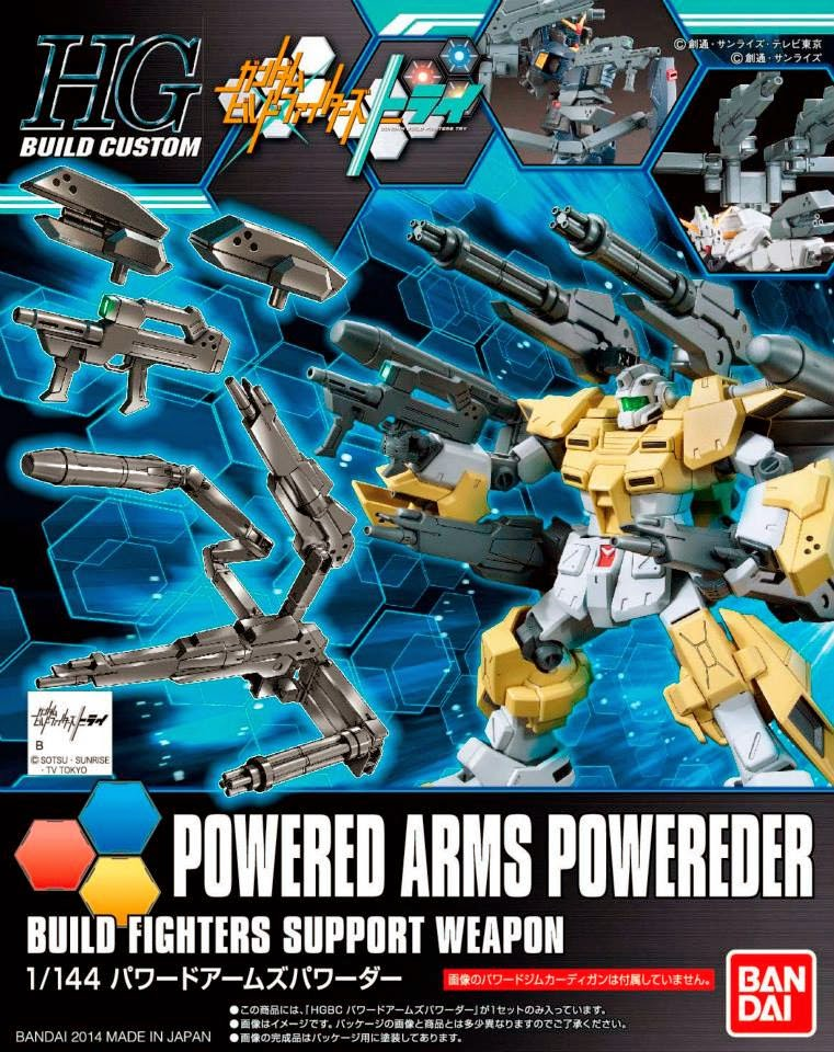 1/144 HGBC Powered Arms Powereder