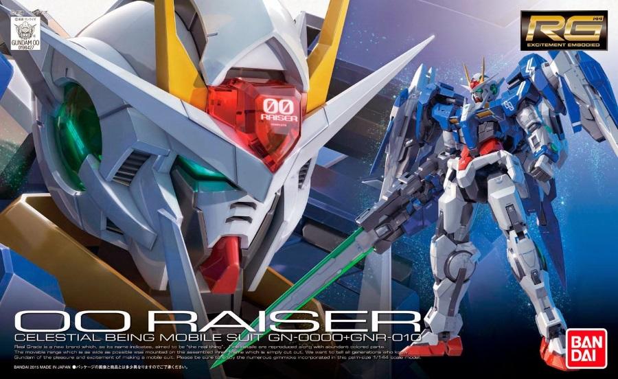 1/144 RG GN-0000+GNR-010 OO Raiser