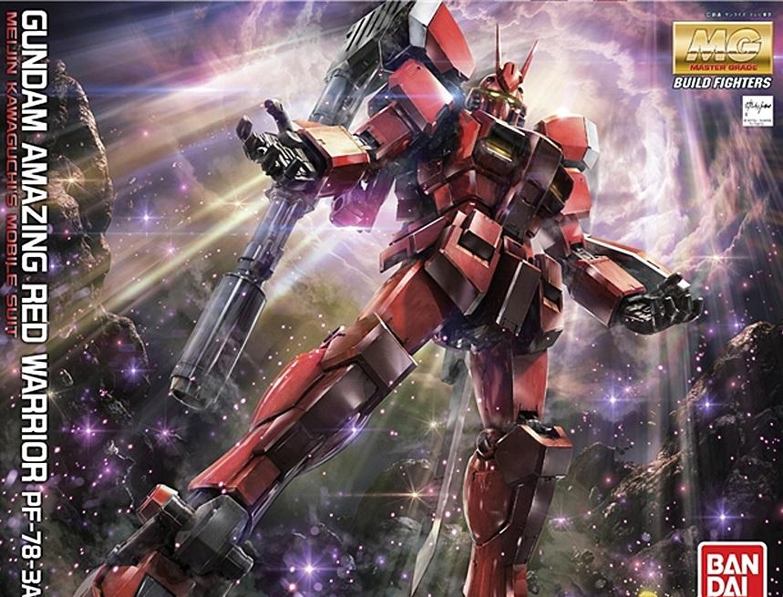 1/100 MG Gundam Amazing Red Warrior