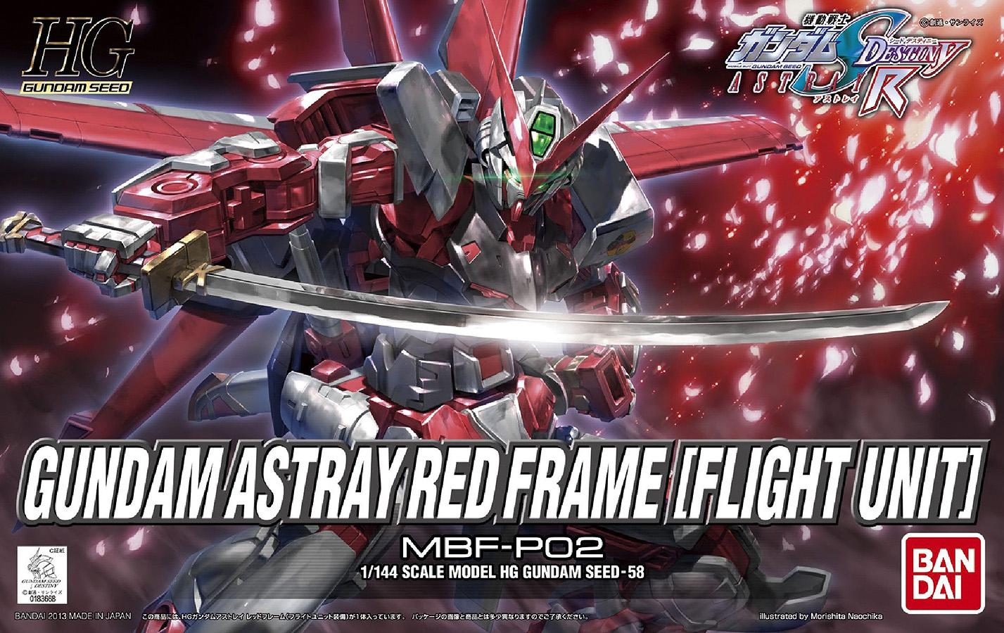 1/144 Gundam Astray Red Frame With Flight Unit