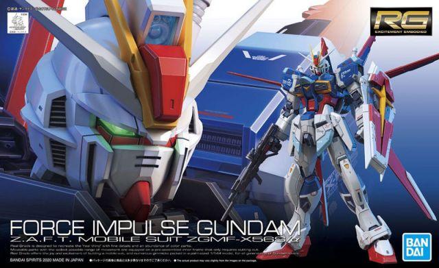 1/144 RG ZGMF-X56S/Α Force Impulse Gundam