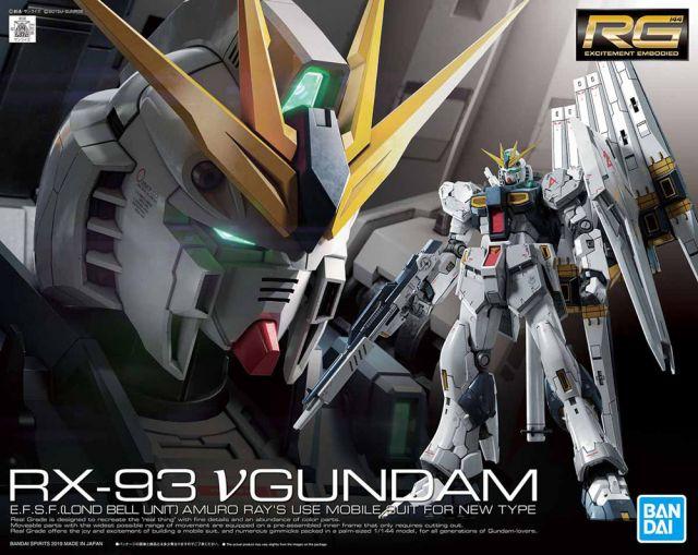 1/144 RG RX-93 Nu Gundam