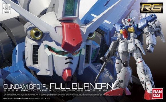 1/144 RG Gundam GP01 Full-Burnern