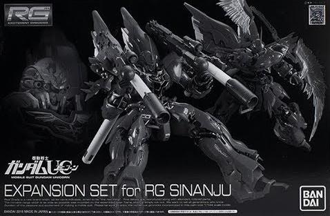 1/144 RG Expansion Set for RG Sinanju
