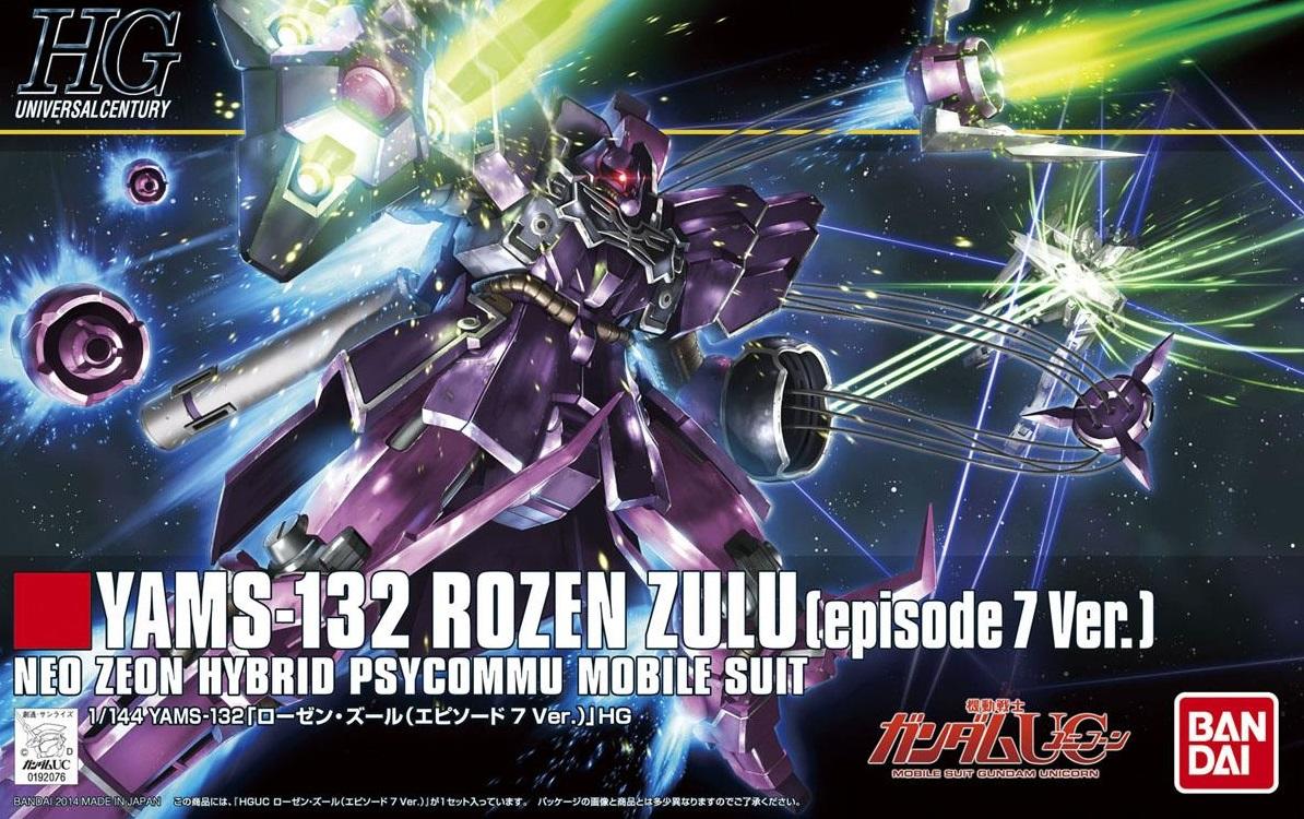 1/144 HGUC YAMS-132 Rozen Zulu (Episode 7 Ver.)
