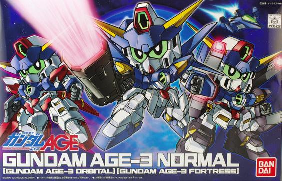 BB Gundam AGE-3 Normal/Orbital/Fortress