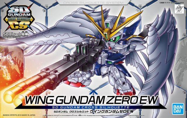 SD Gundam Cross Silhouette Wing Gundam Zero EW