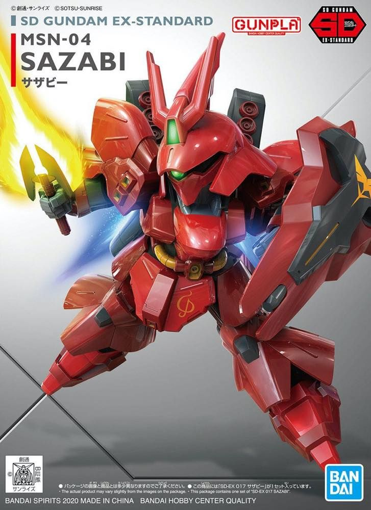 SD Gundam EX Standard Sazabi