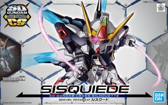 SD Gundam Cross Silhouette Sisquiede