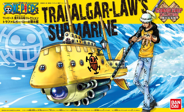 Trafalgar Laws Submarine: Grand Ship Collection